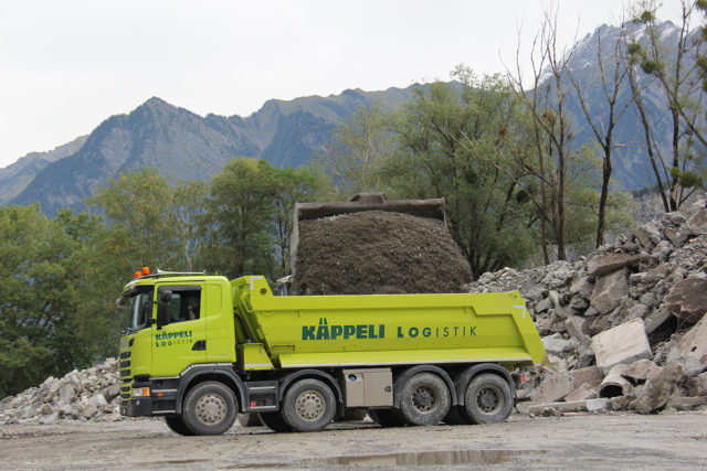 Schüttgut- transporte